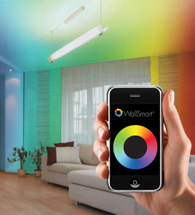 Color Changing Wall Paint Color Changing Wall Paint With Wallsmart An Interactive